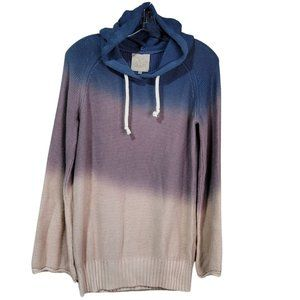 Chaser Ombre Oversized Beack Sweater NWT M